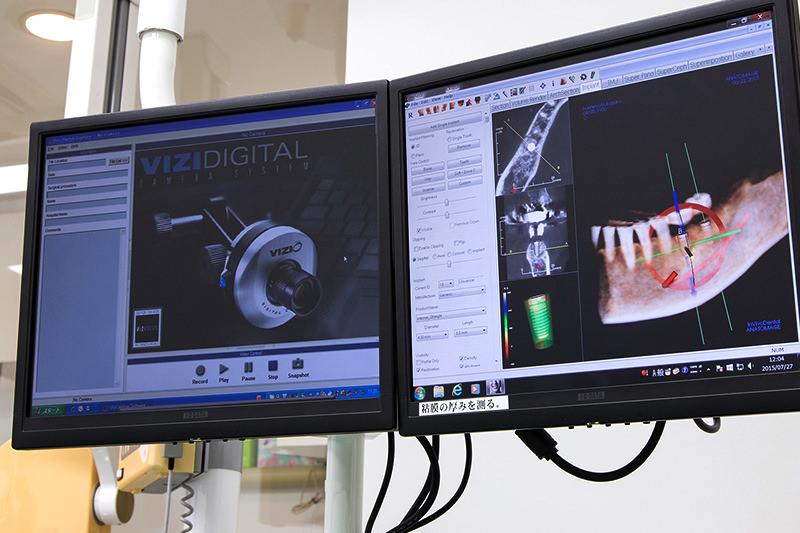 CT完備。最新設備による安心・安全の治療、正確な診断